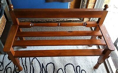 Children's Or Dolls/bear  Wooden Bench