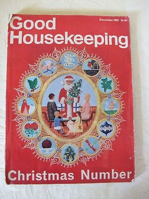 Vintage Christmas Good Housekeeping Magazine December 1963
