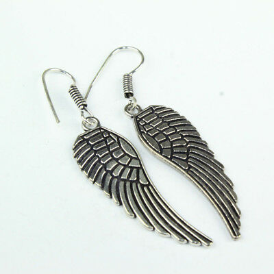 925 Sterling Silver Overlay Feather Desginer Earring Handmade Fashion Jewelry