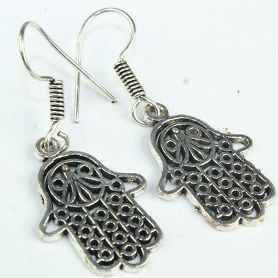 925 Sterling Silver Overlay Desginer earring Handmade Fashion Jewelry