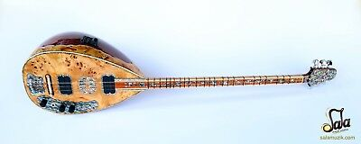 Special Long Neck Juniper Electric Electro Baglama Saz Ses-405G