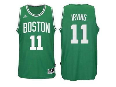 bf796bd44 NWT Throwback Swingman Jersey Kyrie Irving 11 Boston Celtics Green ...