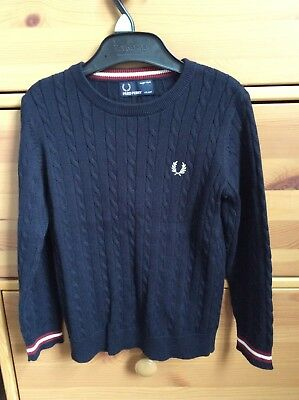 boys Fred Perry sweater