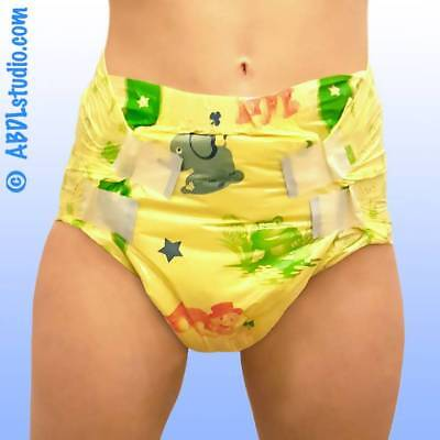 MyDiaper Yellow Nacht Windel Gr.L , bunt, 10er Packung  (MYYELL)