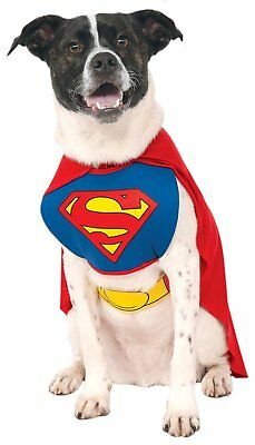 Superman Dog Costume XL