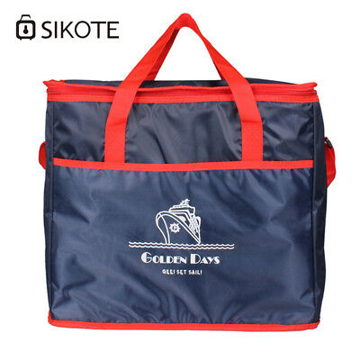 Sikote 38L Extra Large Thickening Cooler Bag Ice Pack Insulated Lunch Bag Cold S