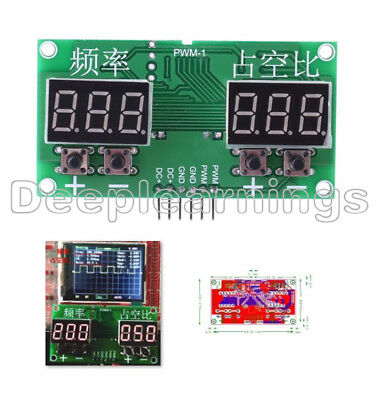 PWM Pulse 0-99% Frequency 6Hz-100KHz Square Wave Signal Generator Duty Cycle D