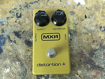 1978 MXR Distortion + Guitar Effects Block Front Script Back Clean