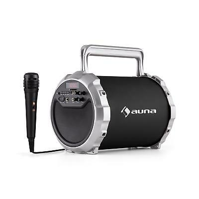 Auna Dr. Bang! Portable 2.1 Bluetooth Speaker System Usb Sd Aux With Microphone