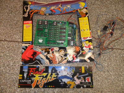 Capcom Final Fight  Arcade Game Kit, Works Perfect!