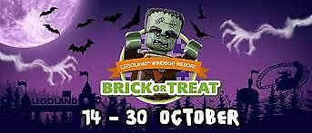 Legoland Tickets - Sunday 29th October 2017- Save £££'s #SchoolHolidays