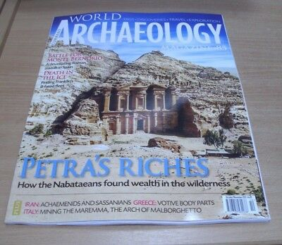 Current World Archaeology magazine #85 OCT/NOV 2017 Jordan Petra, Monte Bernorio