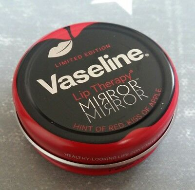 Vaseline Lip THERAPY LIMITED EDITION NEW MIRROR HINT OF RED. KISS OF APPLE 2017