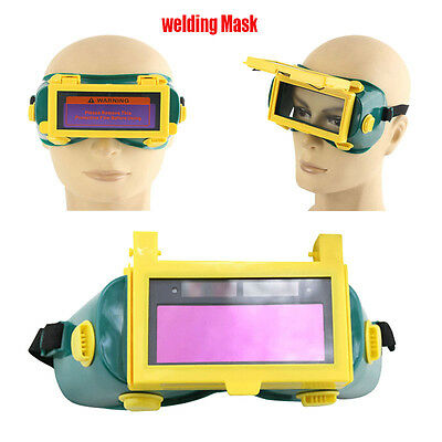 Solar Eyes Goggles Auto Darkening TIG Welding mask Glasses Facepiece Helmet Mask