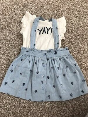 BNWT Next girls outfit 9-12 months RRP £16