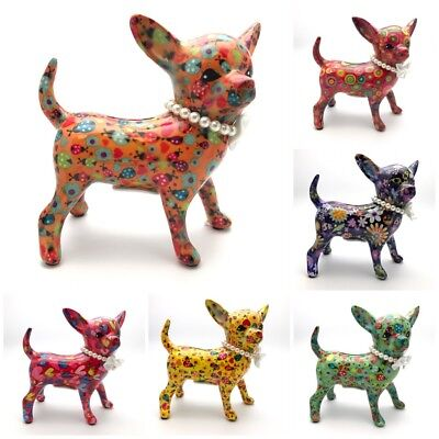 Chihuahua Dog Money Box by Pomme Pidou BRAND NEW Comes Boxed 6 Colours To Choose