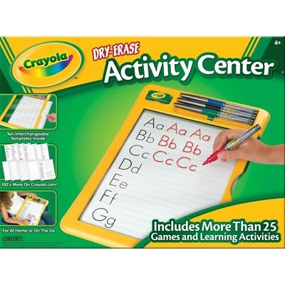 Crayola Dry Erase Activity Centre, PLUS EDITION ,Educational Writing Learning