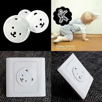 10/20Pcs Safety Outlet Plug Covers Child Baby Proof Electric Shock Guard Cap
