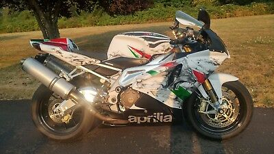 2009 Aprilia RSV1000R  Exotic one of a kind Custom Painted Aprilia RSVR