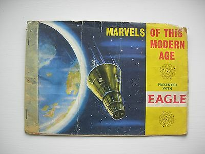 Marvels of this modern Age booket presented with Eagle, for picture cards. Comic