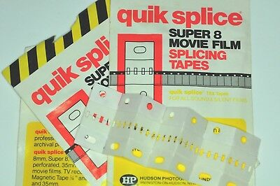 Quik-Splice Super 8 Film Splicing tapes  80 No.
