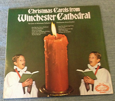 Lp Christmas Carols From Winchester Cathedral 1972