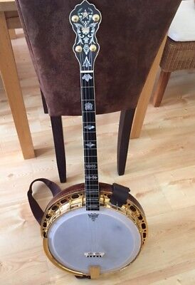 Vintage Banjo 4 String Vega Top-Neck, Case, Super Instrument Price reduced again