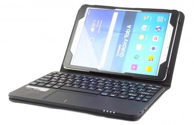 SonnyGoldTech - Galaxy Tab A 10.1 Bluetooth Touchpad Tastatur Tasche Hülle