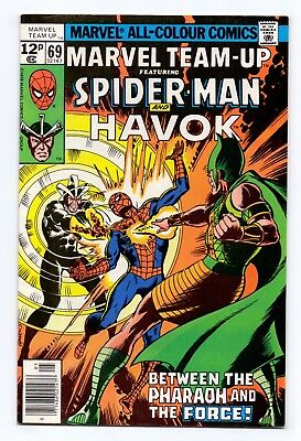 Marvel Team-Up #69 - Spider-Man/Havok