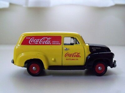 Johnny Lightning - Coca-Cola Delivery Services  '50 Chevy Panel Delivery - Loose