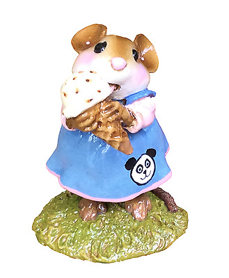 Wee Forest Folk-M-277 YUMMY with Panda Embellishment to go with PANDA PIT