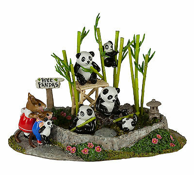 Wee Forest Folk-M-241v PANDA PIT Third pc in Creative Hands Exclusive ZOO Series