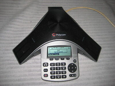Polycom SoundStation IP 5000 PoE With Power Supply Good Working Condition