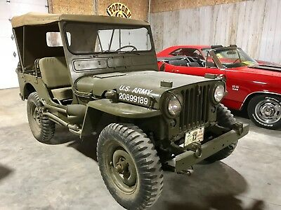 1951 Willys Other MC38 M38 4x4 army jeep 1951 Willys Jeep MC38 M38 Military Army Restored MUST SEE VIDEO Running Driving
