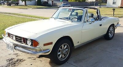1973 Triumph Other  1973 Triumph Stag Manual Tran with O.D.