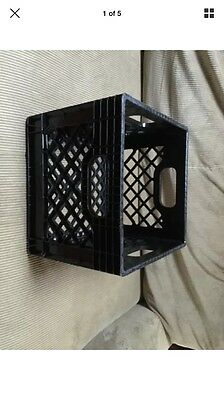 Industrial strength quality heavy duty plastic milk crate NOT in stores!
