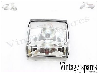 Brand New Vespa Px 125 Px 150 Clear Tail Light Rear Stop Lamp Special Quality