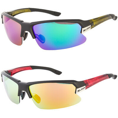 f0990d288b MENS XLOOP BASEBALL Cycling WRAP SPORTS RUNNING DESIGNER SUNGLASSES Golfing