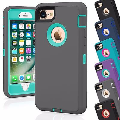 15 Shockproof Defender Hybrid Hard Case Covers Wholesale Lot For Apple iPhone 8