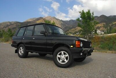 1995 Land Rover Range Rover County Classic SWB 1995 Range Rover County Classic SWB - Beluga Black/Lightstone - No Reserve!