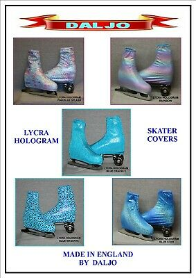 Ice Skating / Roller Skating  Lycra Hologram Boot Covers No H5