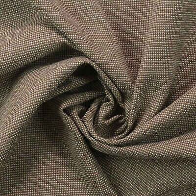 """Outdura Delaney Latte Brown Woven Outdoor Indoor Furniture Fabric By Yard 54""""w"""
