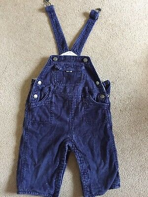 Baby Boden Boys Corduroy Dungarees - 12-18 months