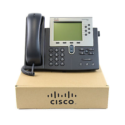 New Cisco CP-7975G Unified IP Telephone Gigabit Color Screen