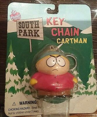 south park key chain 3d cartman 1998 in box