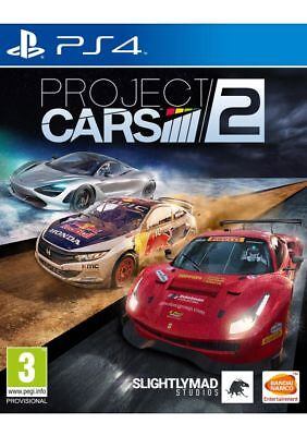 Project CARS 2 PS4 Game Brand New/Sealed Aussie Seller A++++