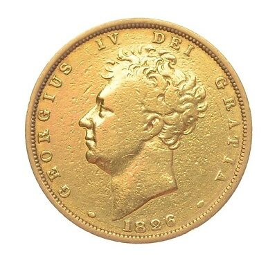 1826 Sovereign George Iv  #1126