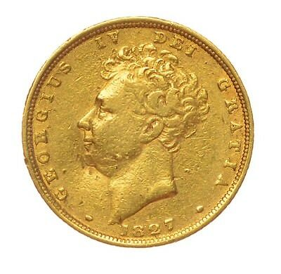 1827 Sovereign George Iv  ®1127