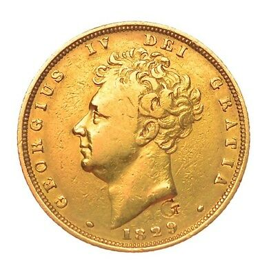 1829 Sovereign George Iv  ®1128