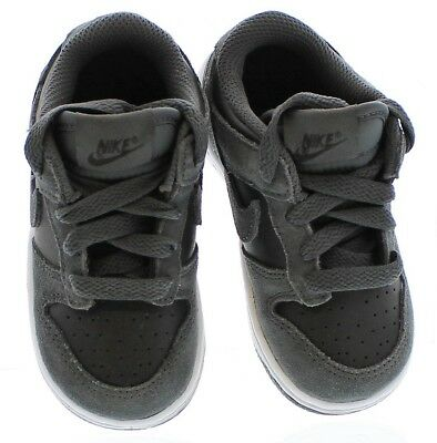 Nike Toddler Boys Lttle Dunk Low BT Shoes Anthracite/Anthracite-Black #905092-0